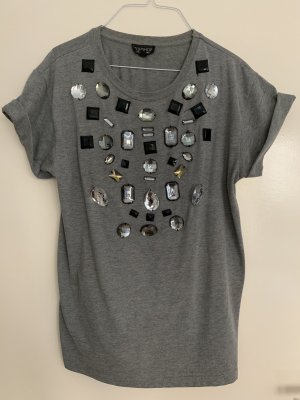 Besonderes Shirt mit Diamond-Details von TOPSHOP