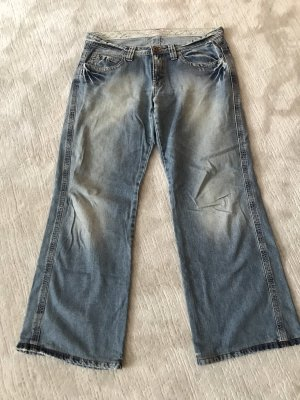 edc Straight Leg Jeans blue-light blue