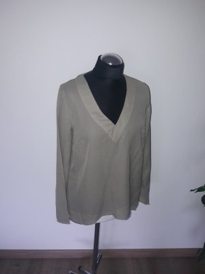 Best Connections Long Sleeve Blouse grey brown-sand brown