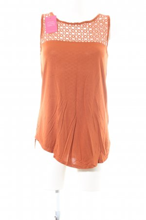 Best Connections Blouse Top light orange casual look