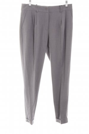 Best Connections Pleated Trousers light grey business style