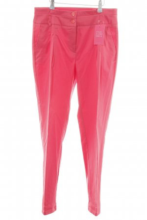 Best Connections Bundfaltenhose pink Casual-Look