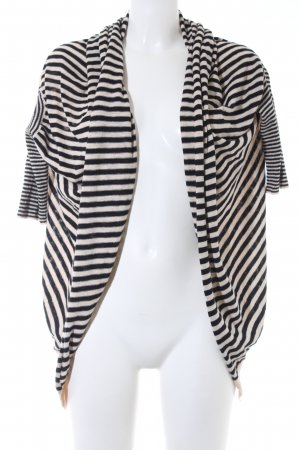 Best Connections Cardigan beige-black horizontal stripes casual look