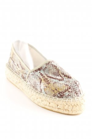 Best Connections Espadrille Sandals animal pattern casual look