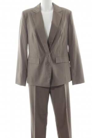 Best Connections Trouser Suit grey brown business style