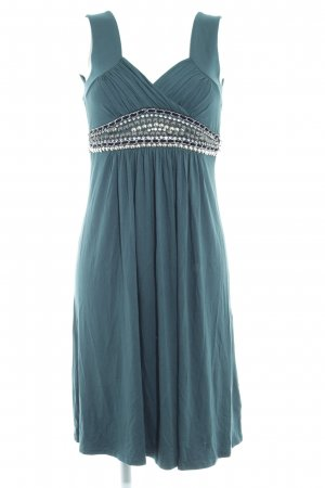 Best Connections Jersey Dress dark green elegant