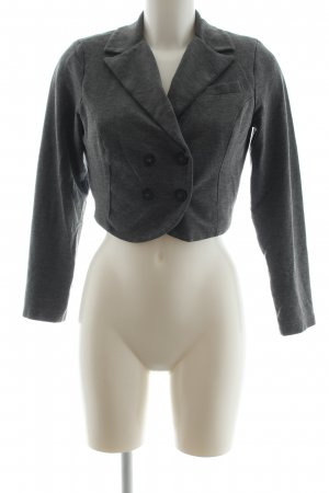Best Connections Short Blazer light grey flecked vintage look