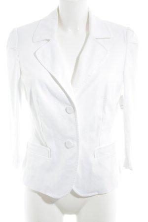 Best Connections Korte blazer wit casual uitstraling