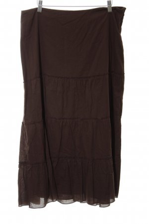 Best Connections Maxi Skirt brown simple style