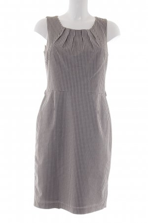 Best Connections Midi Dress white-brown check pattern casual look