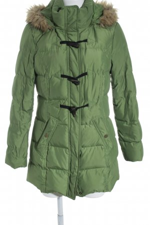 Best Connections Parka grasgrün-grün Steppmuster Casual-Look