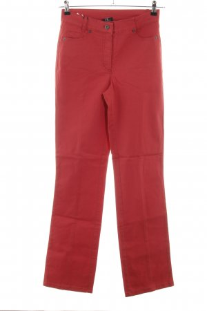 Best Connections Röhrenhose rot Casual-Look