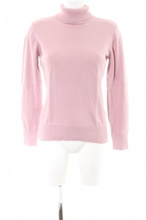 Best Connections Turtleneck Sweater pink casual look