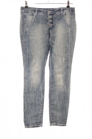 Best Connections Vaquero slim gris claro-azul look casual