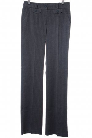 Best Connections Jersey Pants anthracite herringbone pattern business style