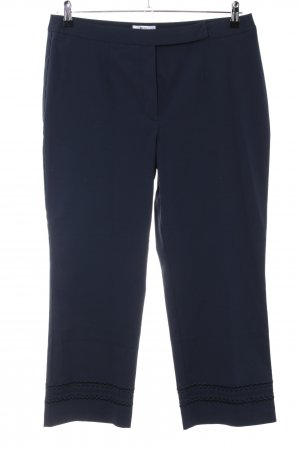 Best Connections Stretchhose blau Business-Look