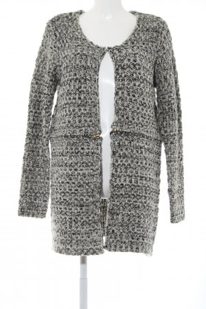 Best Connections Knitted Cardigan light grey-black business style