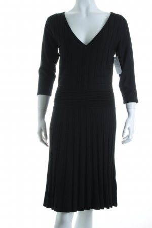 Best Connections Strickkleid schwarz Casual-Look