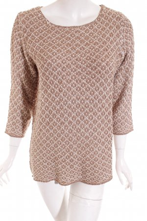 Best Connections Knitted Sweater light brown-light grey casual look