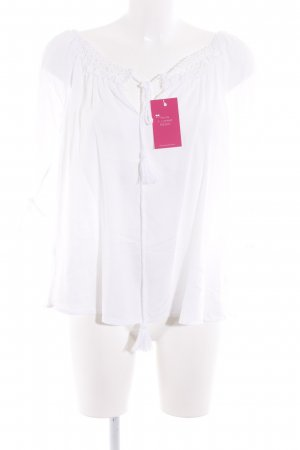 Best Connections Tunic Blouse white beach look
