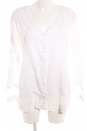 Best Connections Tunic Blouse natural white romantic style
