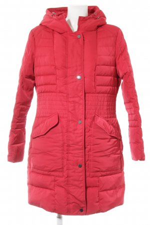Best Connections Winter Coat red quilting pattern casual look