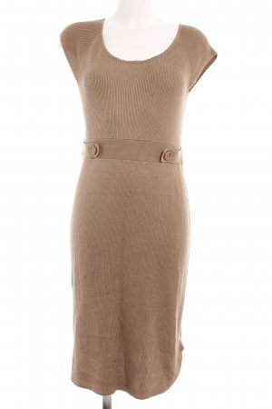 Best Connections Woolen Dress beige casual look
