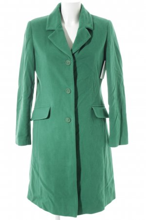 Best Connections Manteau en laine vert style extravagant