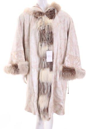 Best Fashion Giacca di pelliccia multicolore stile stravagante