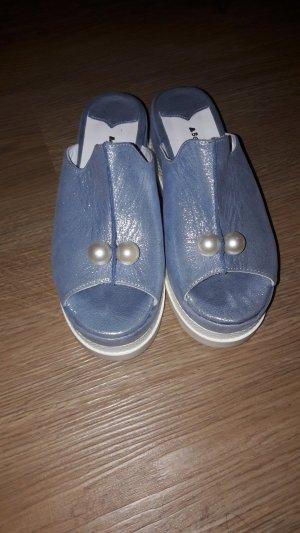 Sandalias de playa gris