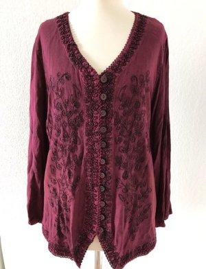 Long Sleeve Blouse purple