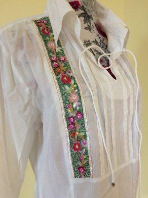 Bestickte Bluse von Seidensticker, Gr 42