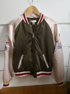 H&M College Jacket rose-gold-coloured-khaki