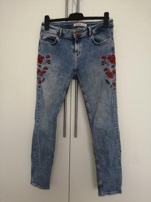 Zara Skinny Jeans carmine-azure
