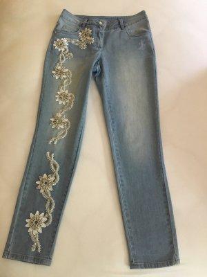 bestickte Jeans von Madeleine