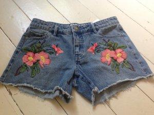 Bestickte Jeansshorts von Vero Moda