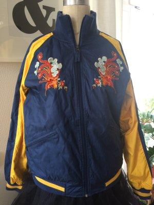 Bestickte Softshell Jacke im Bomber Stil - Marke BURTON / Analog