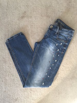 Guess Jeans slim fit azzurro