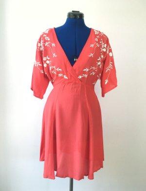 Asos Mini-jurk rood-wit
