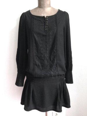Besticktes Kleid von Mango, Gr. 40, mit Wolle
