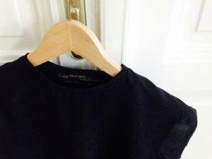 AllSaints Shirt zwart Zijde