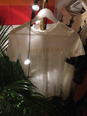H&M Camiseta blanco-amarillo