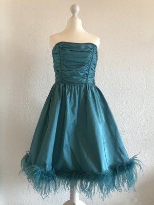 Betsey Johnson Evening Dress cadet blue