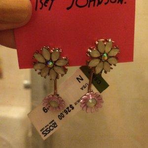 Betsey Johnson Blumenohrringe zu verkaufen