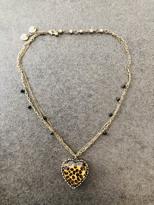 Betsey Johnson Leo-Herz-Halskette
