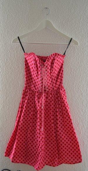 Betsey Johnson Petticoat Dress raspberry-red-pink