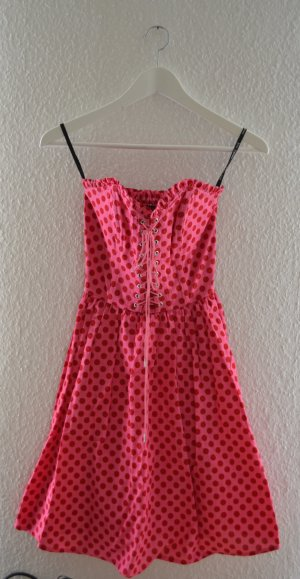 Betsey Johnson Abito a sottoveste rosso lampone-rosa