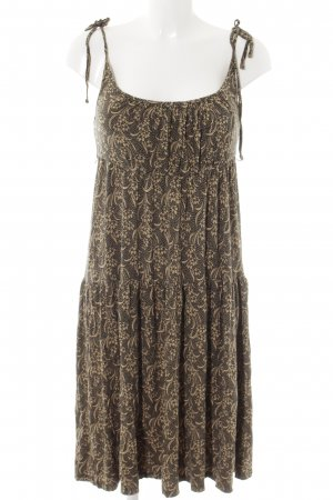 Betsey Johnson Pinafore dress sand brown-black casual look