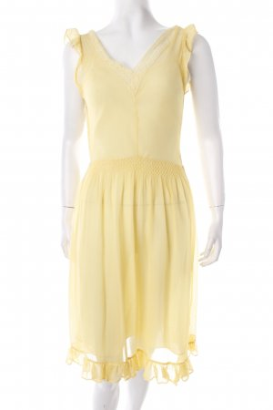 Betsy Johnson Chiffon Dress primrose romantic style