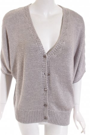 Better Rich Cardigan zilver casual uitstraling